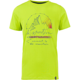 La Sportiva Connect T-Shirt Homme, apple green
